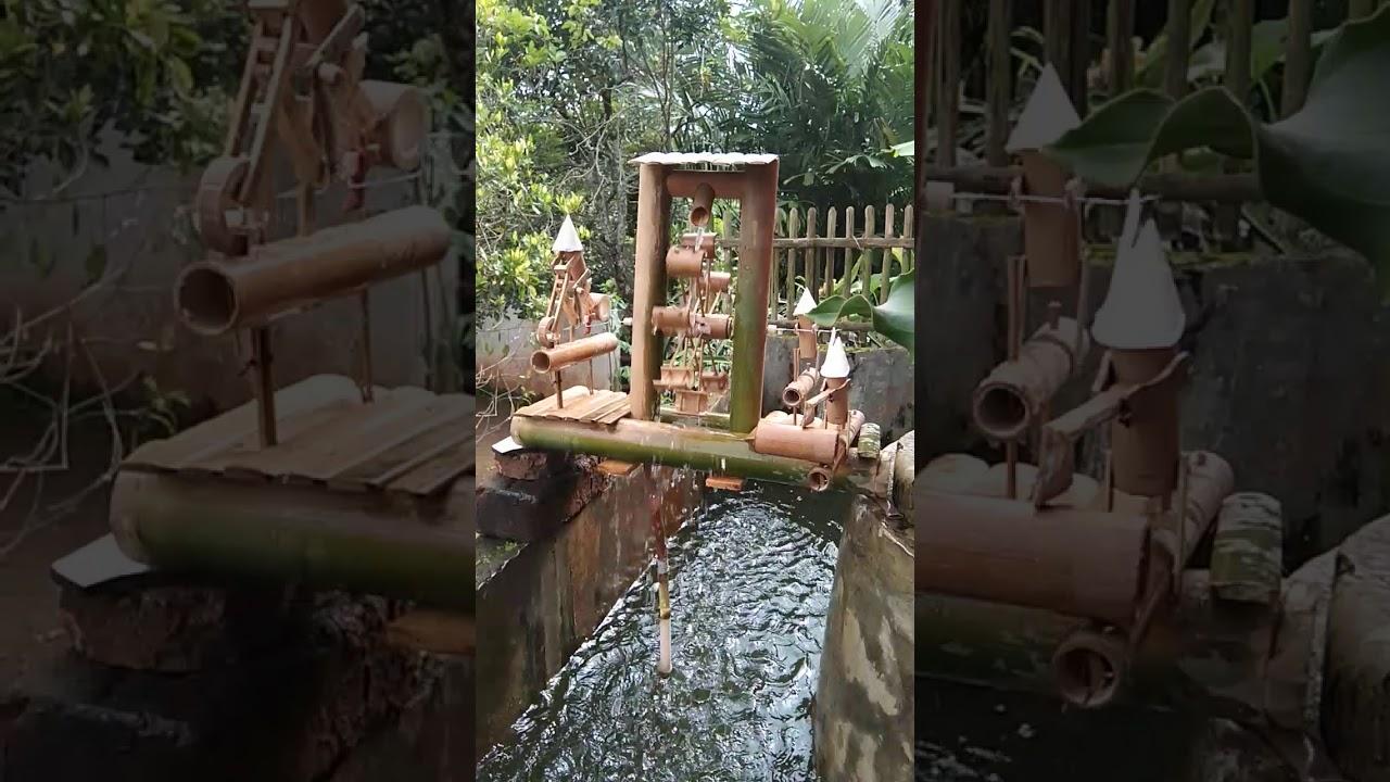 Kerajinan Dari Bambu Dan Tekniknya