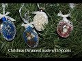 Christmas Ornaments made with Spoons