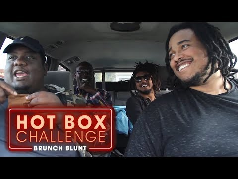 The Hot Box Challenge - HIGHQ Challenge ft.Teddy Ray | Brunch Blunt