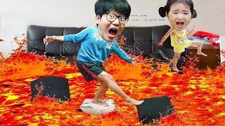 بولا يشتري مغامرة! الأرضية عبارة عن حمم  مع The Floor is Lava