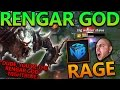 MAKING NIGHTBLUE3 RAGE AT ME (RENGAR GOD JUNGLE CARRY) - League of Legends With Friends