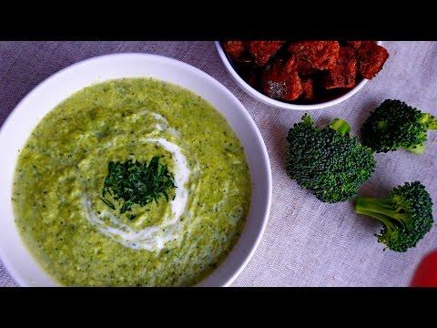 Ну, оОчень вкусный - Суп из Брокколи! Брокколи рецепты. Что приготовить из брокколи.
