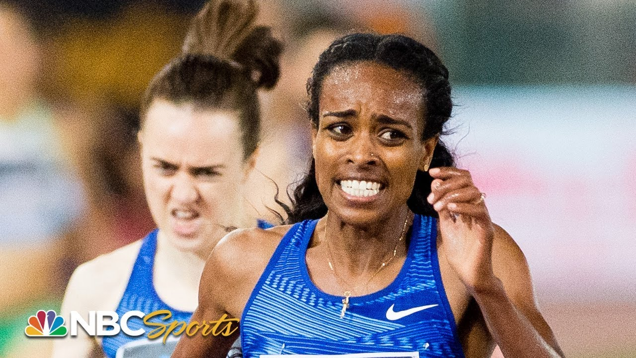 Genzebe Dibaba Posts World's Best 1500m of the Year in Rabat | NBC Sports