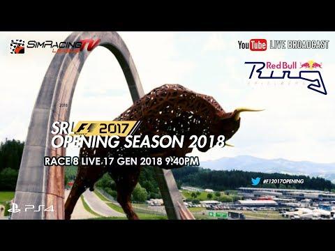 F1 2017 - SRL Opening Season 2018 - RACE 9   Austrian GP LIVE