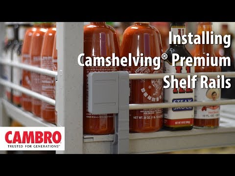 How To: Install Camshelving Premium Shelf Rails