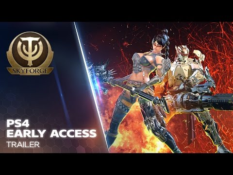Skyforge - PS4 Early Access Trailer