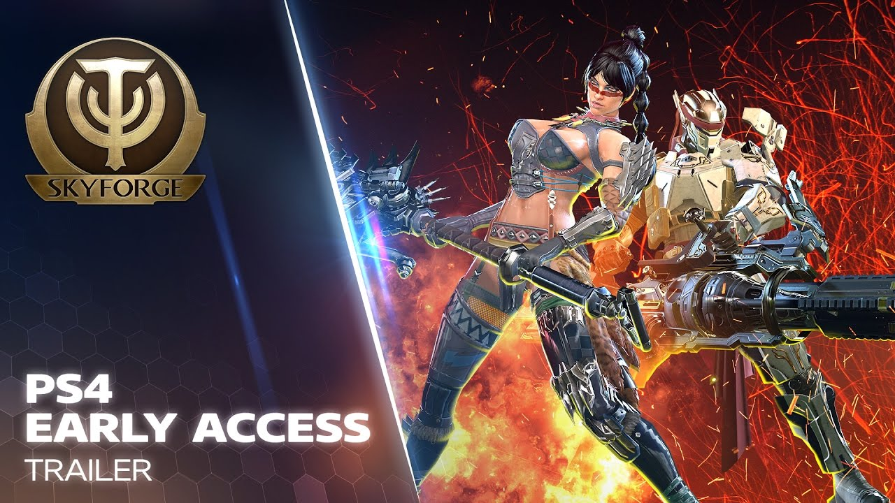 Skyforge PS4 Founders Pack Giveaway | OnRPG