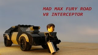 Building the V8 Interceptor from Mad Max Fury Road with Lego