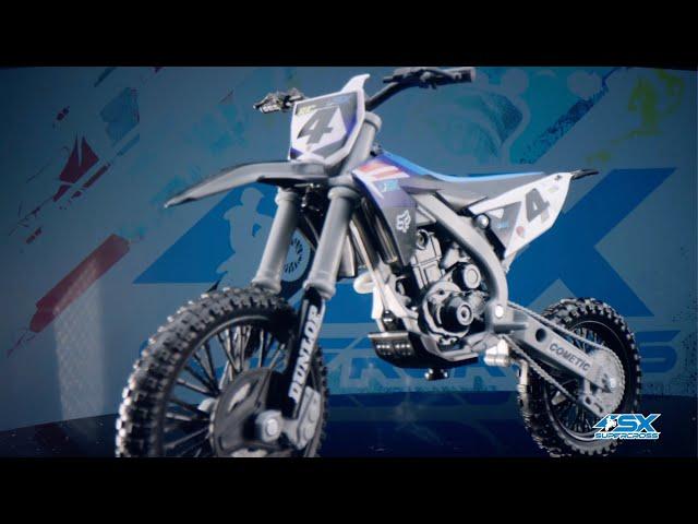 Supercross Rider and Bike Toys: Ricky Carmichael