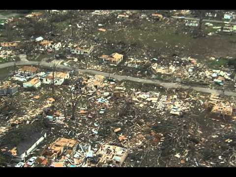 Tuscaloosa Tornado Damage Aerials Part 1