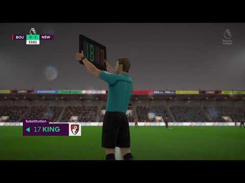 FIFA 18 - Bournemouth VS Newcastle | Won 2-1