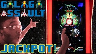 GALAGA ASSAULT -  I Ship My Pants, Jackpot! *NEW ARCADE GAME*