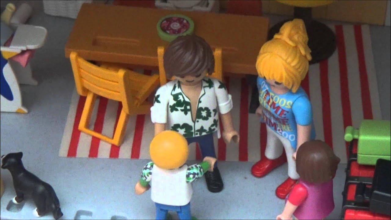 Déménagement playmobil   youtube