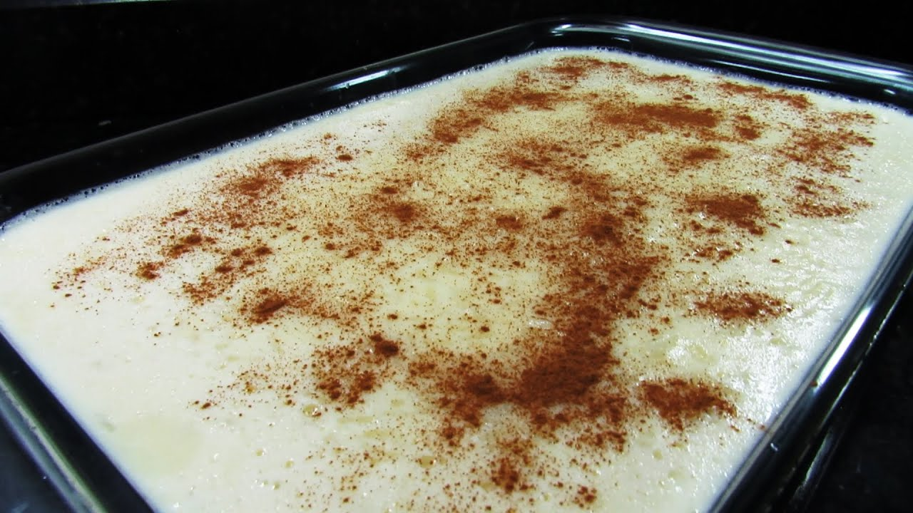 Arroz Doce Facil