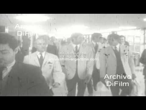 Estudiantes de La Plata regresa desde Lima - Copa Libertadores 1968