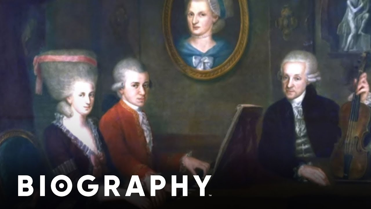 Wolfgang Amadeus Mozart Pianist & Poser Mini Bio