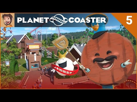Let's Play Planet Coaster - Hard Mode - Part 5
