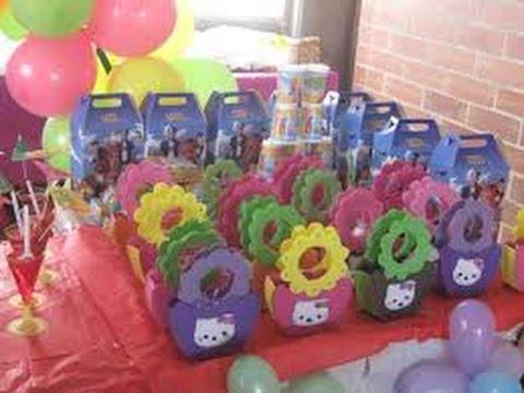 Como decorar una fiesta infantil de la doctora juguetes - Decoraciones para las unas ...