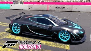 Mclaren P1 do Filme Tron no Jogo Forza Horizon 3 PC Gameplay