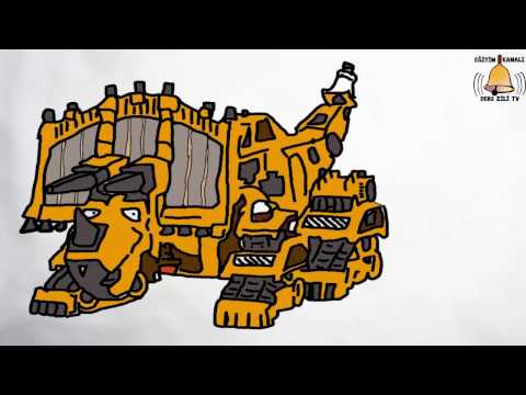 Dinotrux Dozer Dinozor Makineler Dozer Pc De çizdik Dinotrux