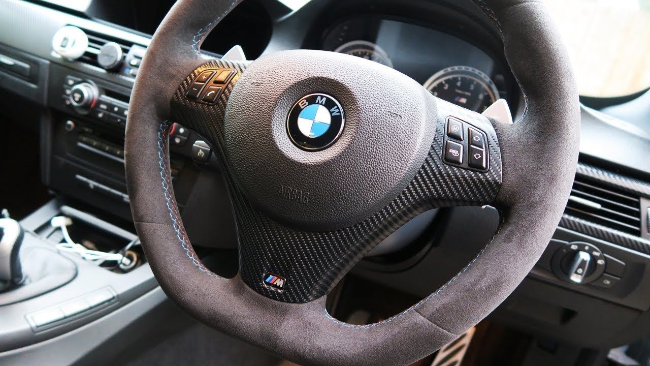 My Bmw E92 M3 Interior Has Been Carbon Fiber Wrapped 4d