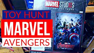 the most INCREDIBLE AVENGERS hunt | Old Toy Finds