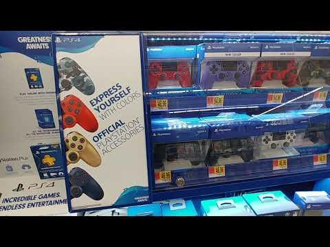PS4 Consoles At Walmart - Nov. 2019