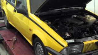 Alfa romeo 75 3,0 V6 on dynamometer