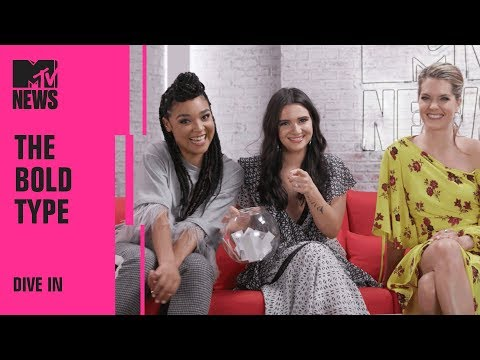 Katie Stevens, Aisha Dee, & Meghann Fahy From 'The Bold Type' Play 'Dive In'  MTV