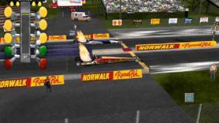 IHRA DRAG RACING GAME (SUPER COMP)