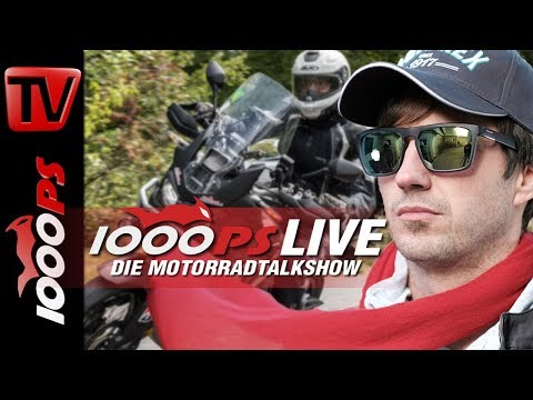 1000PS Live - Africa Twin Dauertest mit Varahannes - wann fa