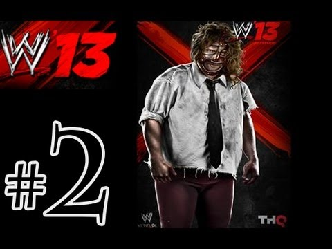 WWE 13 Attitude Era - Mankind Walkthrough Playthrough Part 2 HD