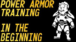Fallout 3 Power Armor Training in the beginning