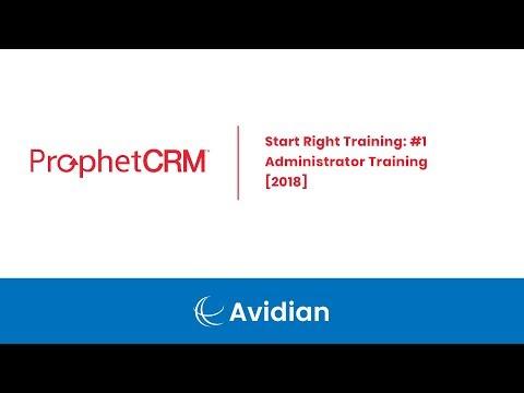 Start Right Training: #1 - Administrator Training [2018]