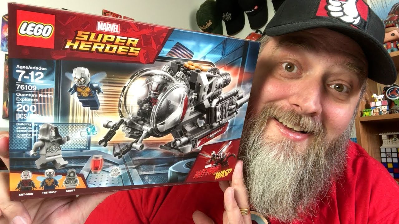 Ant Man And Explorers Set Quantum Realm 76109 Wasp Lego The QxBhCotsrd