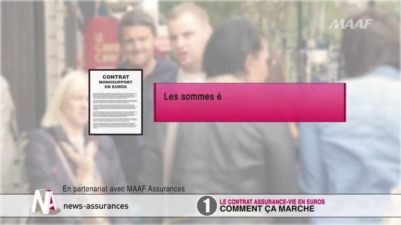cb9c2bafff6 Qu est-ce qu un contrat en euros en assurance-vie   - YouTube