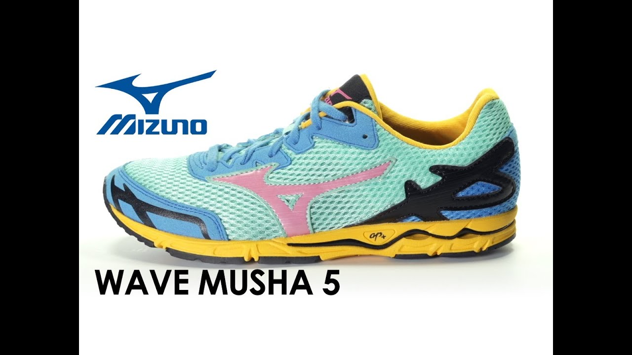Mizuno Wave Musha 5 for women - YouTube