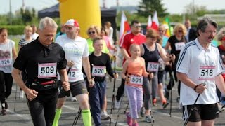 Marsz Nordic Walking na dystansie 3.5 km