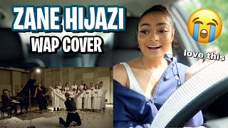 Zane - WAP (Official Muṡic Video Cover) | REACTION (very inspirational..we love that)