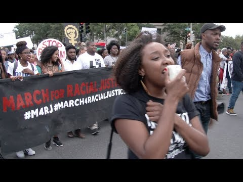 Scenes from the .March For Racial Justice. Today thousands gathered for the .March for Racial Justice. which made its way across Washington DC. Starting at Lincoln Park and heading toward the ..., From YouTubeVideos