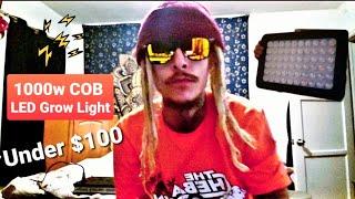 """ Unboxing Series "" 1000W COB Triple Chip LED Full Spectrum Grow Light ( Under $100 )"