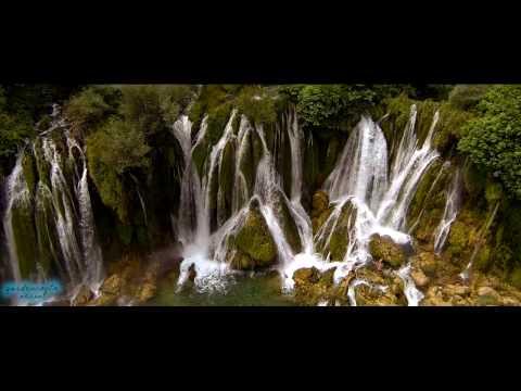Flying over Kravice Waterfalls (Bosnia & Herzegovina)