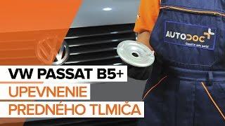 Ako vymeniť predný tlmič na VW PASSAT B5+ [NÁVOD]