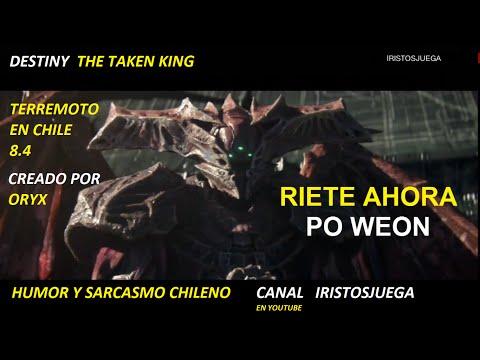 DESTINY THE TAKEN KING TITAN DE FUEGO TERREMOTO EN CHILE SEPTIEMBRE 2015
