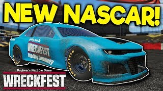 Trying Out the NEW Nascar Stock Car! - Wreckfest Mod Gameplay …