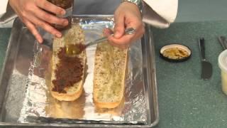 Stuffed Salmon W/ Pesto Toast & Asparagus - Fresh&easy