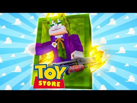 THE JOKER KILLS THE LITTLE CARLY DOLL w/Little Kelly (Minecraft ToyStore)