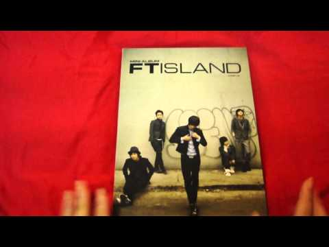 FT Island - Jump Up album unboxing/review