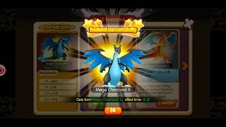 Pocket House 3D (Monster King 3D) - MEGA CHARIZARD X EVOLUTION + POWER TEST!