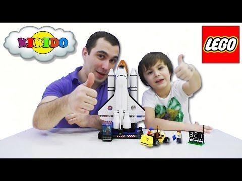 Мультфильм лего космонавты